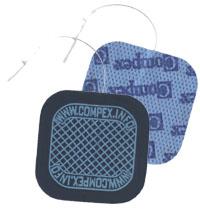 Compex Steck-Elektroden klein