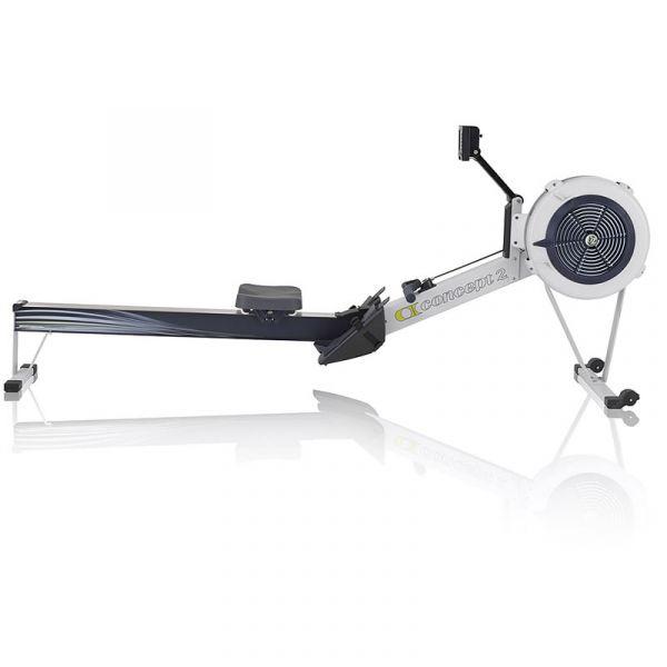 Concept2 Rudergerät RowErg Modell D PM5 Indoor Rower grau