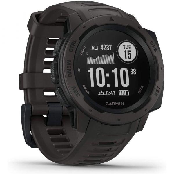 Garmin Instinct Schiefergrau/Schwarz GPS-Outdooruhr