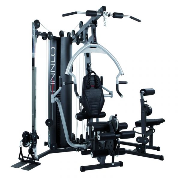 Hammer Finnlo Kraftstation Autark 6600 mit Bauch- und Rückentrainer