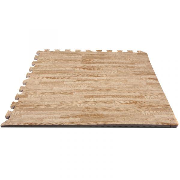 Hammer Finnlo Puzzlematte Bodenschutzmatte Holz