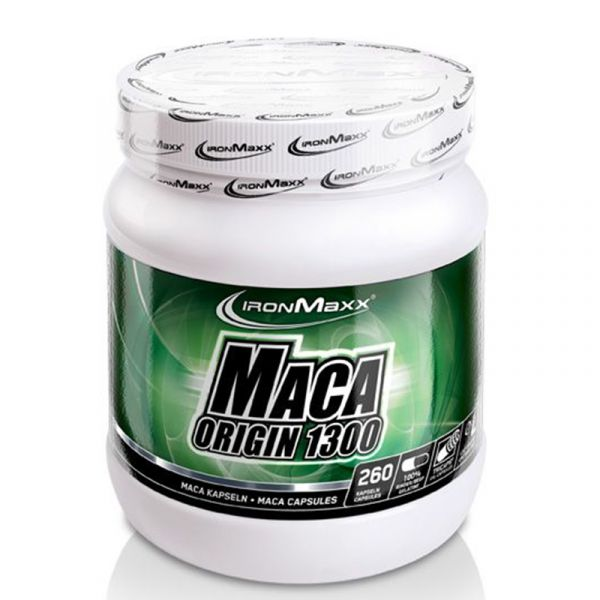 IronMaxx Trainingsbooster Maca Origin (260 Kapseln)