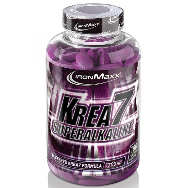 IronMaxx Creatin Krea7 Superalkaline 180 Tabletten á 2130mg