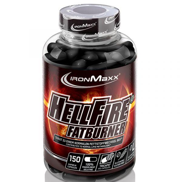 IronMaxx® Diät Supplement Hellfire (150 Kapseln)