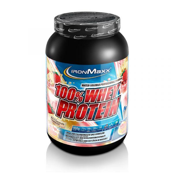IronMaxx 100% Whey Protein 900g Dose