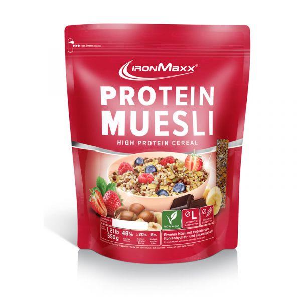 IronMaxx Protein Müsli 550g Beutel