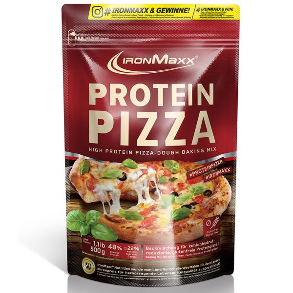 IronMaxx® Low Carb Protein Pizza 500g Beutel