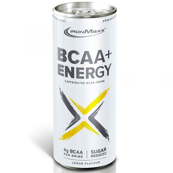 IronMaxx Aminosäuren BCAA Energy Zitrone 330ml Dose