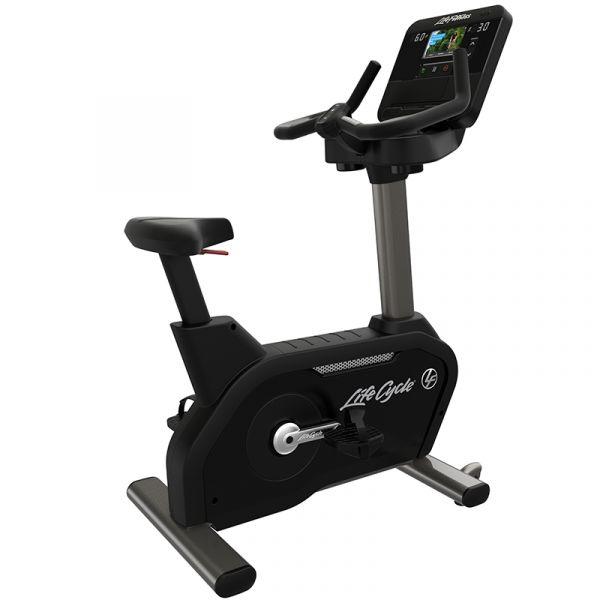 Life Fitness Ergometer Upright Bike Club Serie Plus