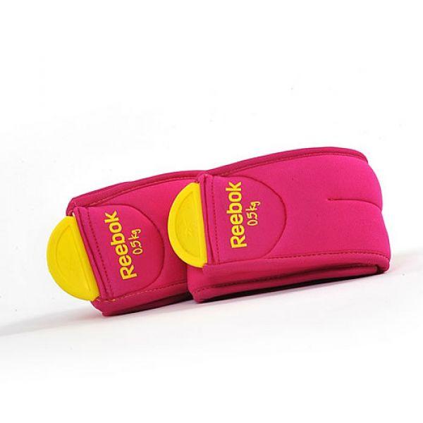Reebok Gewichtsmanschetten, paarweise 2x 0,5kg/ Farbe: Magenta
