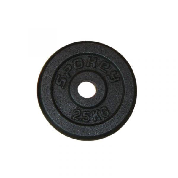 Spokey Gusseisen-Hantelscheibe 1x 2,5kg
