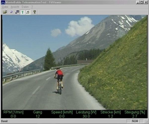 Vitalis-FitViewer Basis-Set für Horizon Fitness Ergometer
