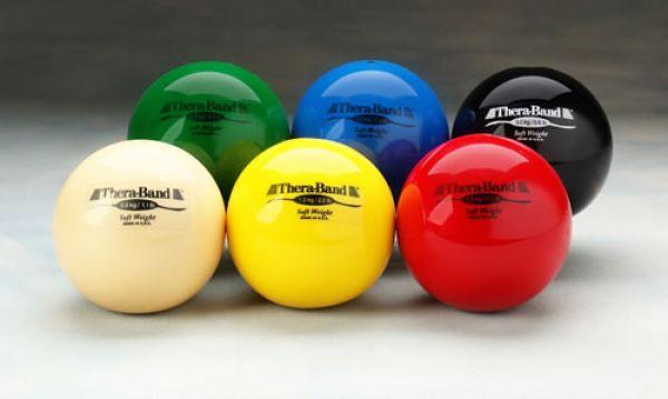 Thera-Band Gewichtsbälle (Soft Weights)
