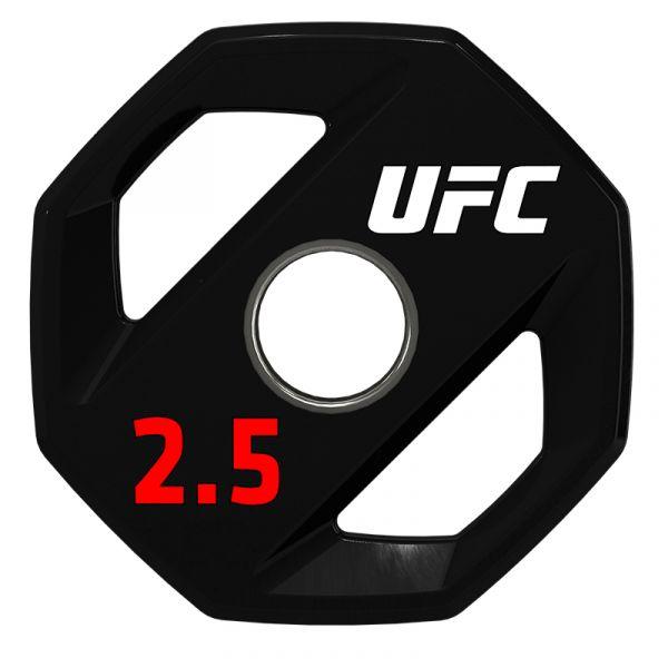 UFC Premium Urethan Hantelscheibe 2,5 kg