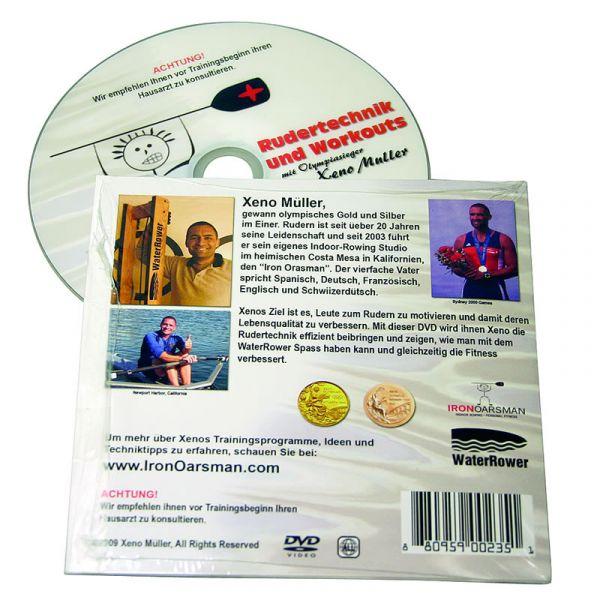 Waterrower Xeno Müller - Rudertechnik DVD