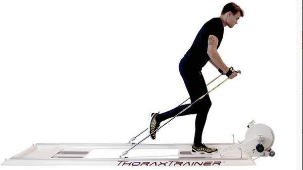 ThoraxTrainer Ski-Ergometer Pro Cardio Aussteller