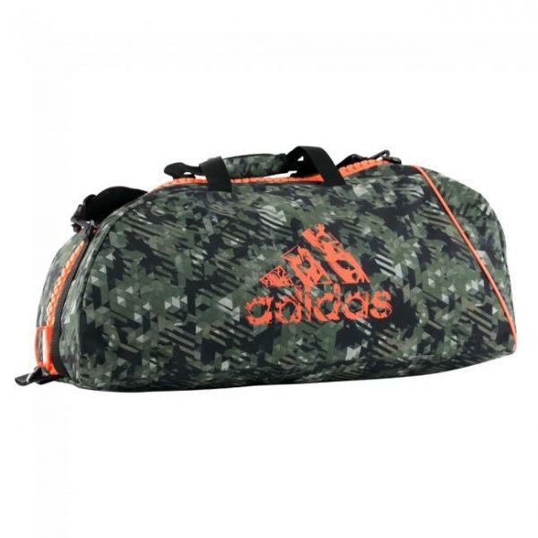 adidas Sporttasche Combat Bag Camouflage/Orange