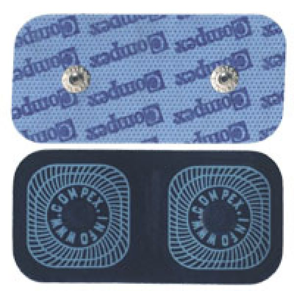 Compex Snap Elektroden 5x10cm Single & Double Snap