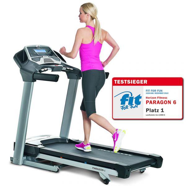 Horizon Fitness Laufband Paragon 6