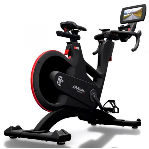 Life Fitness Indoor Cycle IC8 mit MyRide VX Personal Konsole