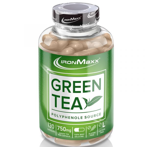 IronMaxx® Diät Supplement Green Tea (130 Kapseln)
