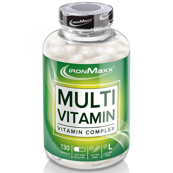 IronMaxx Mineralien Multivitamin Kapseln (130) á 456 mg
