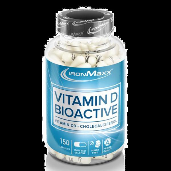 IronMaxx Mineralien Vitamin D Bioactive Kapseln 150