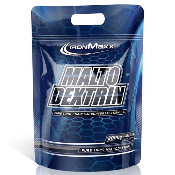 IronMaxx Trainingsbooster Maltodextrin 2000g Beutel Neutral