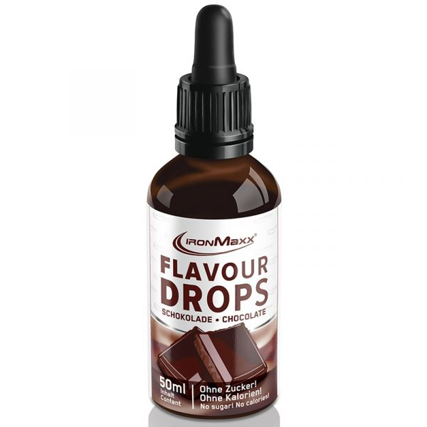 IronMaxx Diät Supplement Flavour Drops 50ml