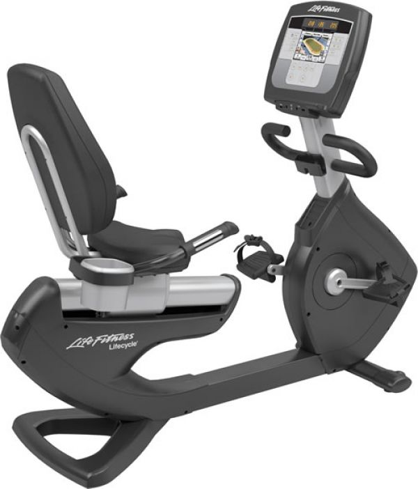 Life Fitness Platinum Club Series Recumbent Lifecycle® Inspire