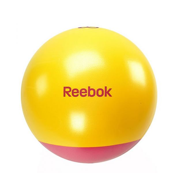 Reebok Gymball zweifarbig inkl. DVD u. Pumpe