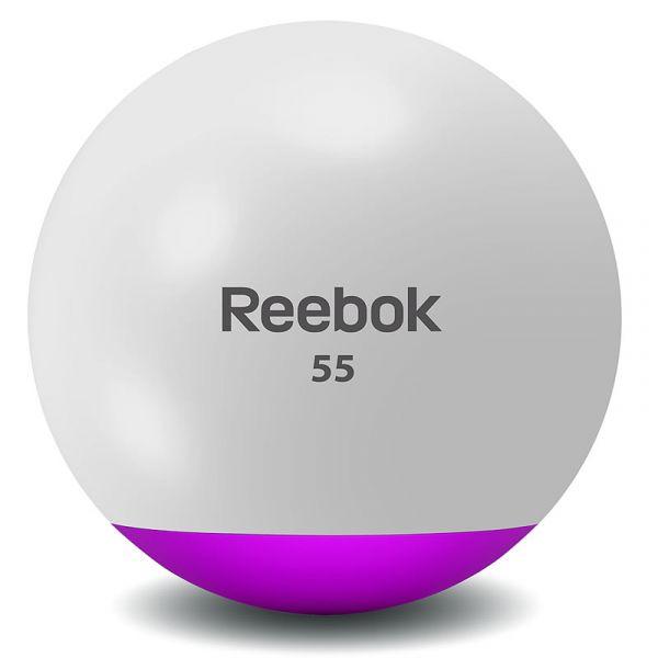 Reebok Antiburst Gym Ball inkl. Pumpe und DVD
