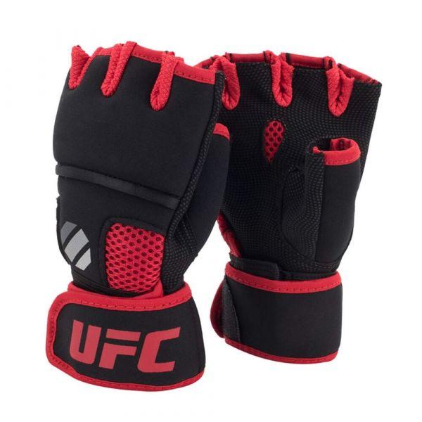 UFC Bandagen/ Boxbandagen Contender Gel Quick Wrap Schwarz/ Rot