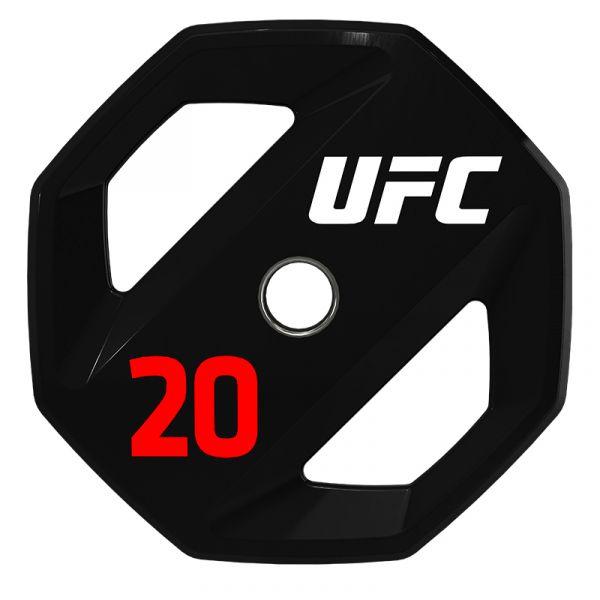 UFC Premium Urethan Hantelscheibe 20 kg