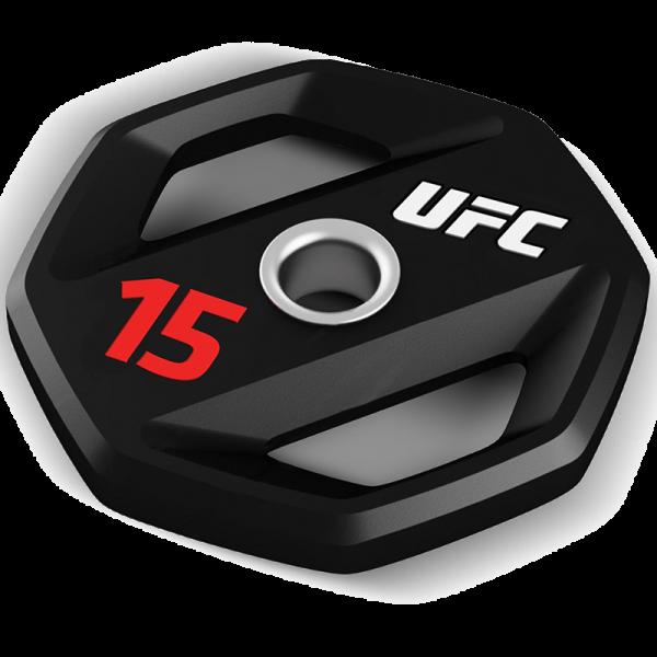 UFC Premium Urethan Hantelscheibe 15 kg
