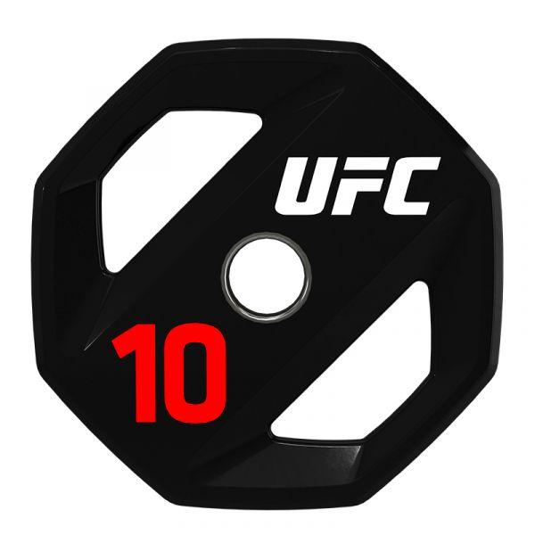 UFC Premium Urethan Hantelscheibe 10 kg