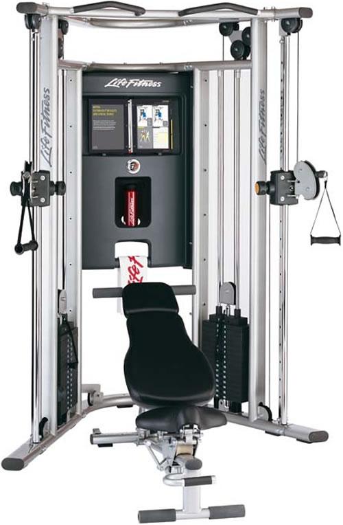 Life Fitness Kraftstation G7 inkl. Trainingsbank