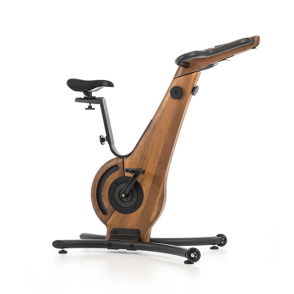 NOHrD Bike Fahrradergometer Nussbaum
