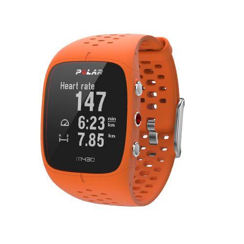 Polar M430 GPS Laufuhr Orange