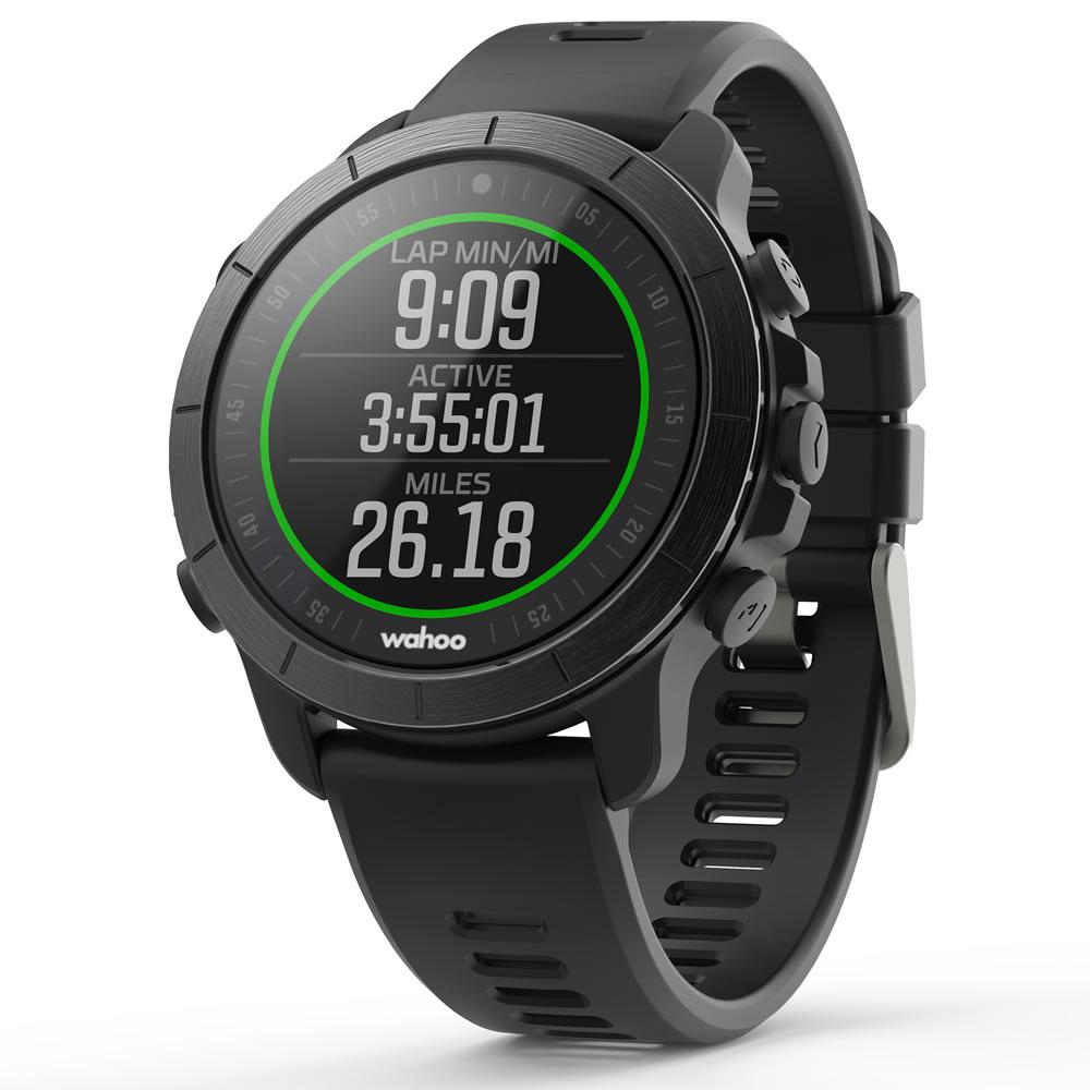 Wahoo ELEMNT RIVAL Multisport GPS Uhr Stealth Grau