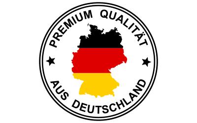 Einige unserer Fitnessgeräte haben 100% Made in Germany Qualität