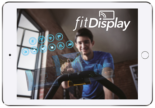 Horizon Fitness Indoor Cycle GR7 Fit Display App