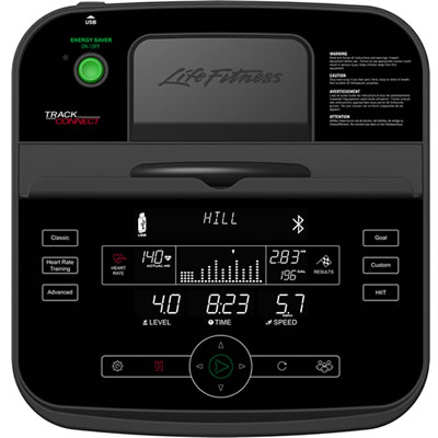 Life Fitness C1 Track Connect Trainingscomputer