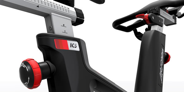 Life Fitness IC5 Indoor Cycle Powered by ICG