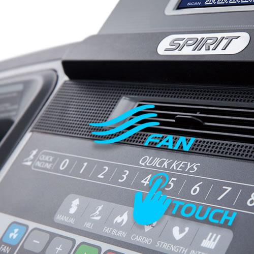 Spirit Fitness Laufband XT185 Ventilator