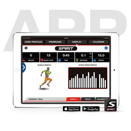 Spirit Fitness App