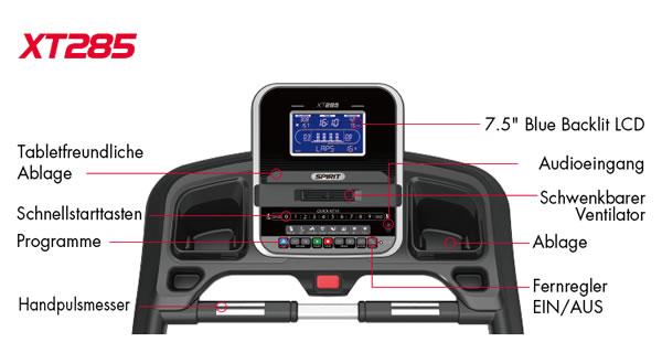 Spirit Fitness XT285 Trainingscomputer